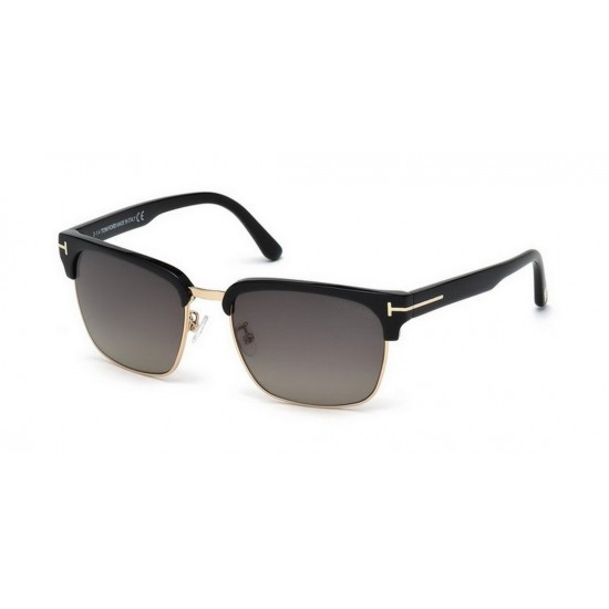 Tom Ford FT 0367  River 01D Nero Lucido