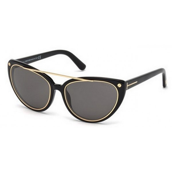 Tom Ford FT 0384 01A Nero Lucido