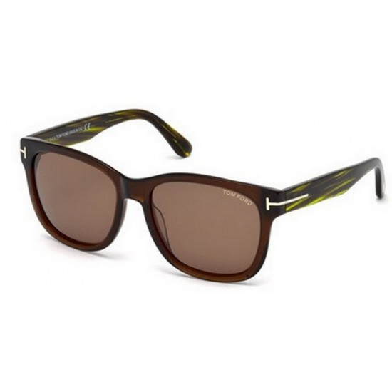 Tom Ford FT 0395 48J Marrone Scuro Lucido
