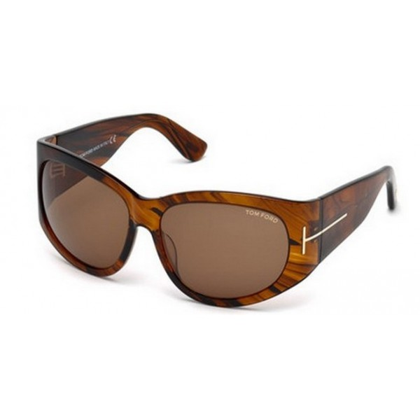 Tom Ford FT 0404 48B Marrone Scuro Lucido