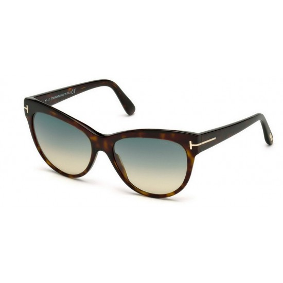 Tom Ford FT 0430 Lily 52P Avana Oscura | Occhiale Da Sole Donna