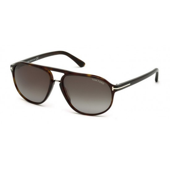 Tom Ford FT 0447  Jacob 52B Avana Oscura | Occhiale Da Sole Uomo