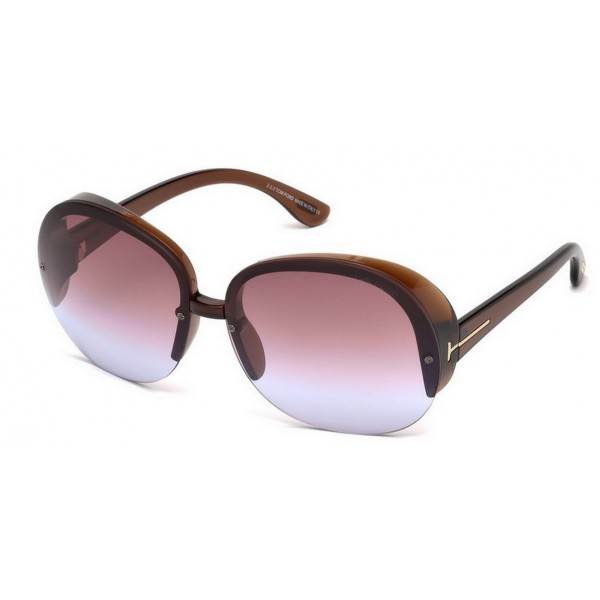 Tom Ford FT 0458 48Z Marrone Scuro Lucido