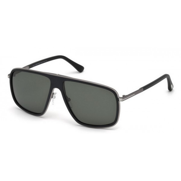 Tom Ford FT 0463 02R Polarizzato Nero Opaco