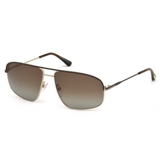 Tom Ford FT 0467 50H Polarizzato Marrone Scuro