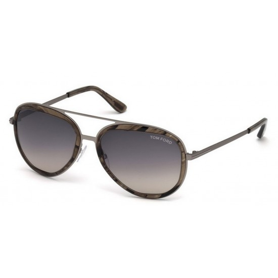 Tom Ford FT 0468 50B Marrone Scuro