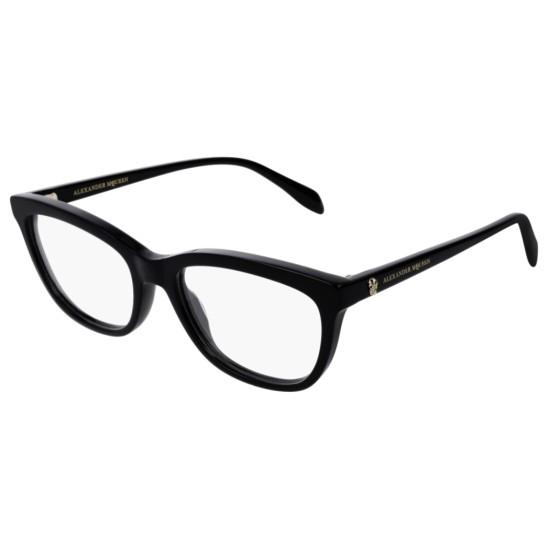 Alexander McQueen AM0161O - 001 Nero | Occhiale Da Vista Donna