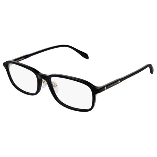 Alexander McQueen AM0168OA - 001 Nero | Occhiale Da Vista Unisex