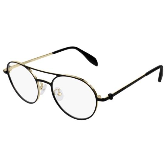Alexander McQueen AM0175O - 001 Nero | Occhiale Da Vista Uomo