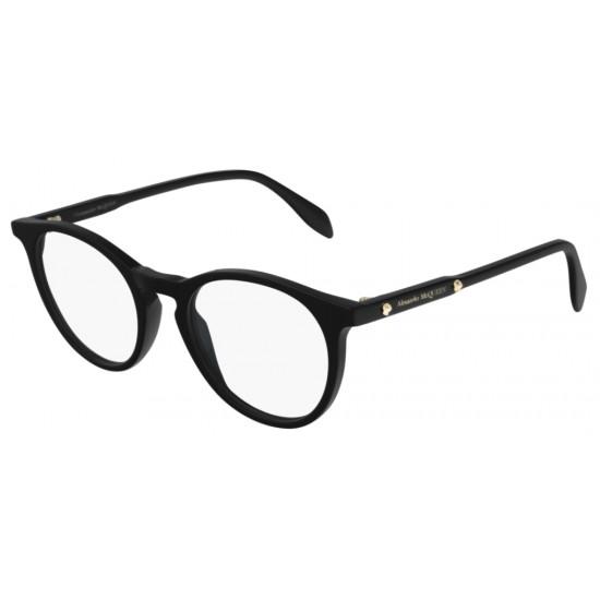 Alexander McQueen AM0190O - 001 Nero   Occhiale Da Vista Unisex