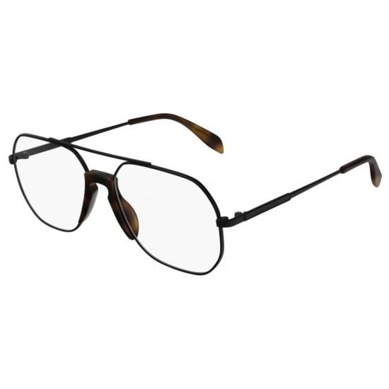Alexander McQueen AM0199O - 001 Nero | Occhiale Da Vista Uomo