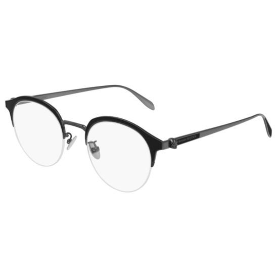 Alexander McQueen AM0203OA - 002 Rutenio | Occhiale Da Vista Uomo