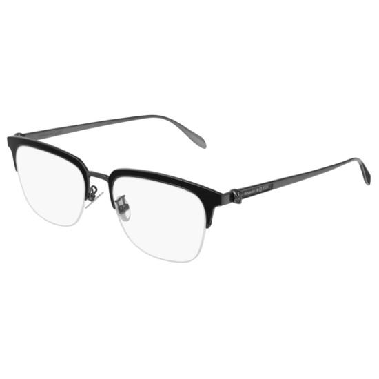 Alexander McQueen AM0215OA - 002 Rutenio | Occhiale Da Vista Uomo