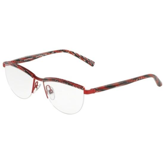 Alain Mikli A0 2023 - E648 Rosso Chevron / Rosso Opaco | Occhiale Da Vista Donna