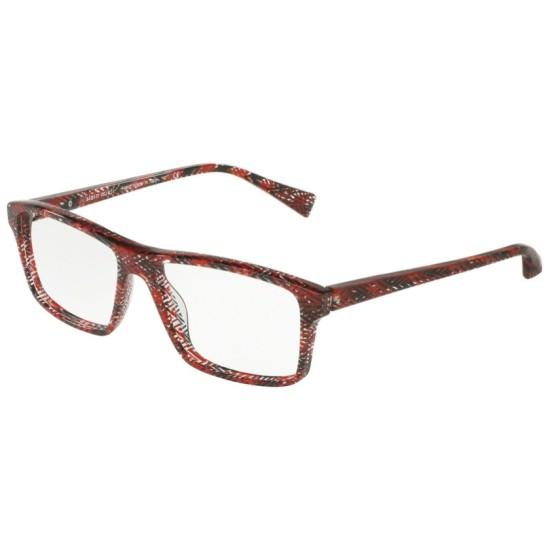 Alain Mikli A0 3065 - 4110 Rosso Chevron | Occhiale Da Vista Uomo