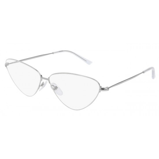 uccidere Soffocante fazzoletto  Balenciaga BB0015O - 002 Argento   Occhiale Da Vista Unisex