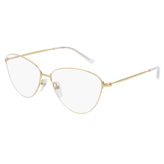 di prima qualità criticamente ricaricare  Balenciaga BB0034O - 003 Oro   Occhiale Da Vista Donna