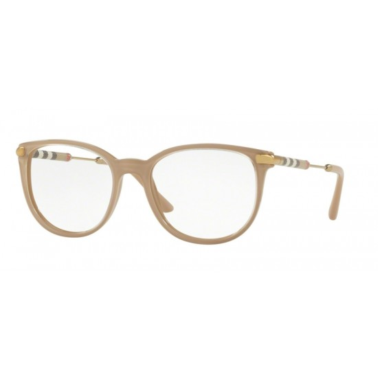 Burberry BE 2255Q - 3656 Piano Trasparente Su Beige | Occhiale Da Vista Donna