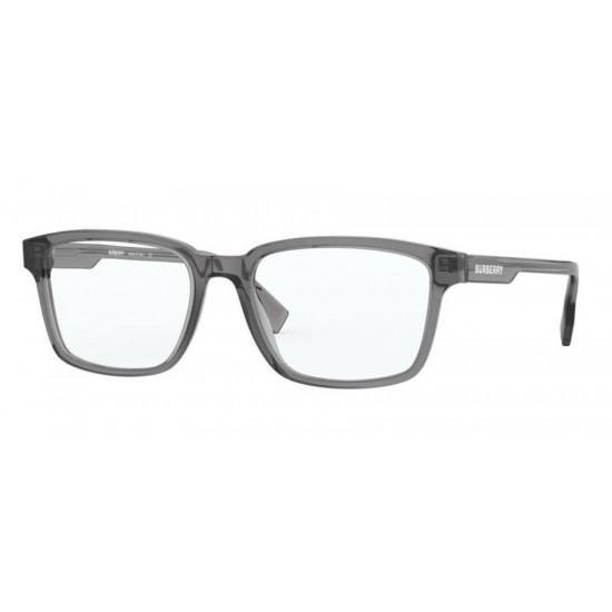 Burberry BE 2308 - 3801 Grigio Trasparente   Occhiale Da Vista Uomo