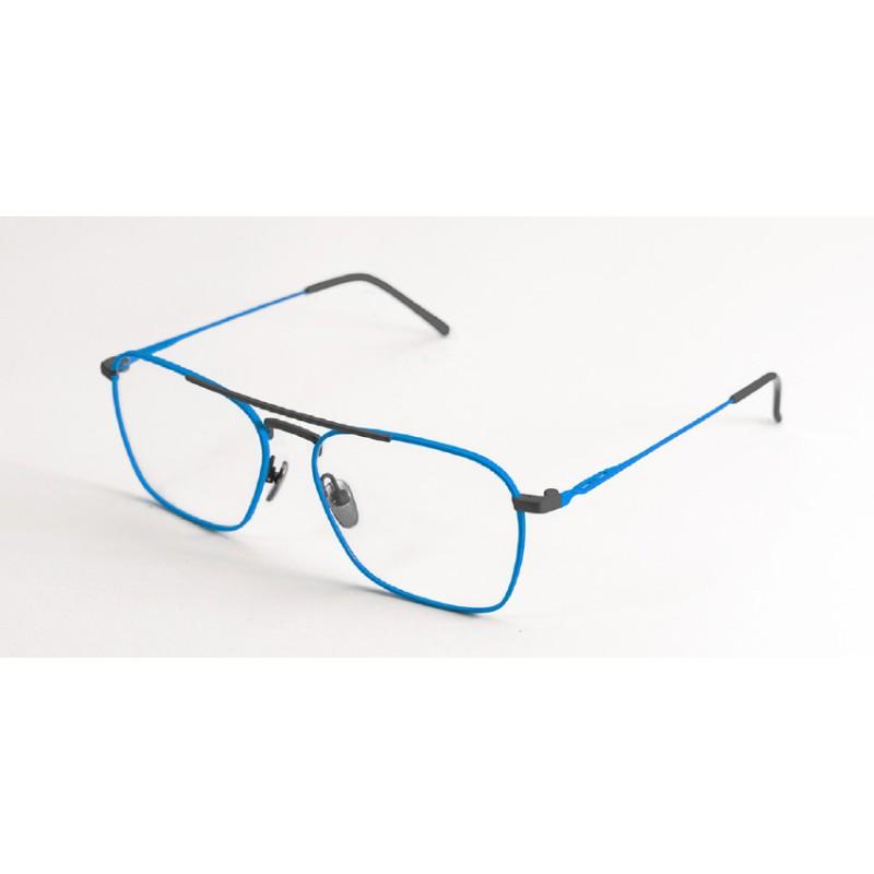 Italia Independent 5308 027 078 Igor Eyewear Sky Blue Gunmetal Occhiale Vista 8Zr5us