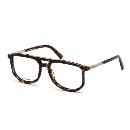 Dsquared2 DQ 5258 - 052 Avana Oscura | Occhiale Da Vista Uomo