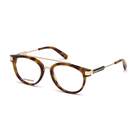 Dsquared2 DQ 5261 - 053 Avana Bionda   Occhiale Da Vista Unisex