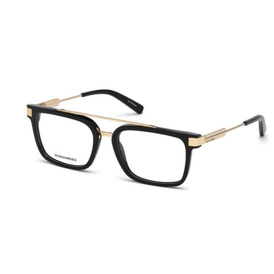 Dsquared2 DQ 5262 - 001 Nero Lucido | Occhiale Da Vista Unisex