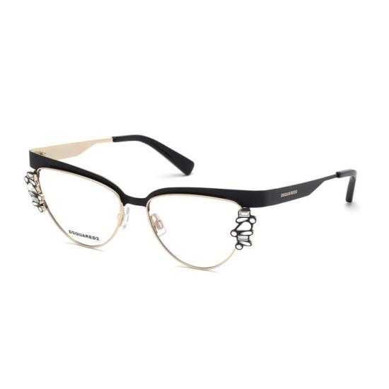 Dsquared2 DQ 5276 - 002 Nero Opale | Occhiale Da Vista Donna