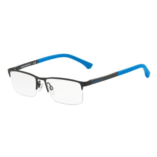Emporio Armani EA 1041 - 3110 Gomma Nera   Occhiale Da Vista Uomo