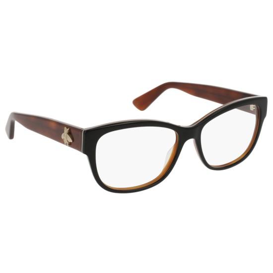 Gucci GG0098O - 003 Nero | Occhiale Da Vista Donna