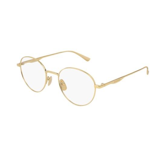 Gucci GG0337O - 001 Oro | Occhiale Da Vista Uomo