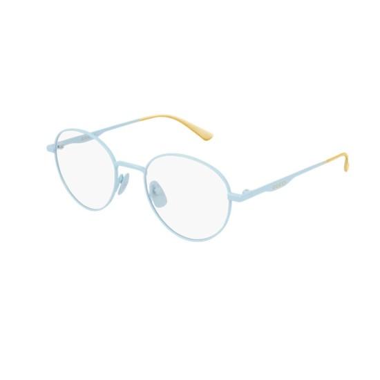 Gucci GG0337O - 006 Azzurro   Occhiale Da Vista Uomo