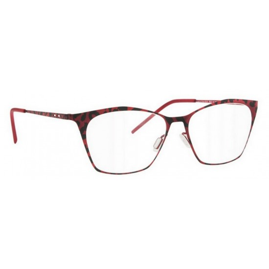 Italia Independent I-METAL 5214 - 5214.IBR.051 Rosso Multicolor | Occhiale Da Vista Donna