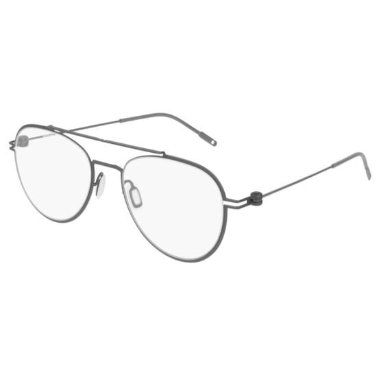 Montblanc MB0001O - 003 Rutenio | Occhiale Da Vista Uomo