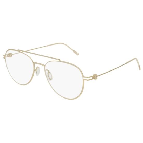 Montblanc MB0001O - 004 Oro | Occhiale Da Vista Uomo