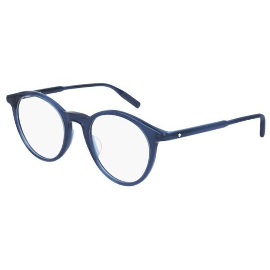 Montblanc MB0009O - 007 Blu | Occhiale Da Vista Uomo