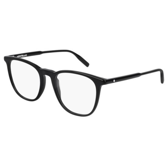 Montblanc MB0010O - 005 Nero | Occhiale Da Vista Uomo