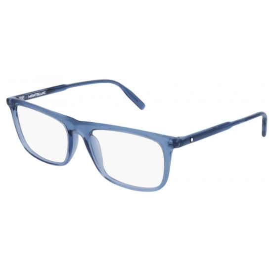 Montblanc MB0012O - 007 Blu | Occhiale Da Vista Uomo
