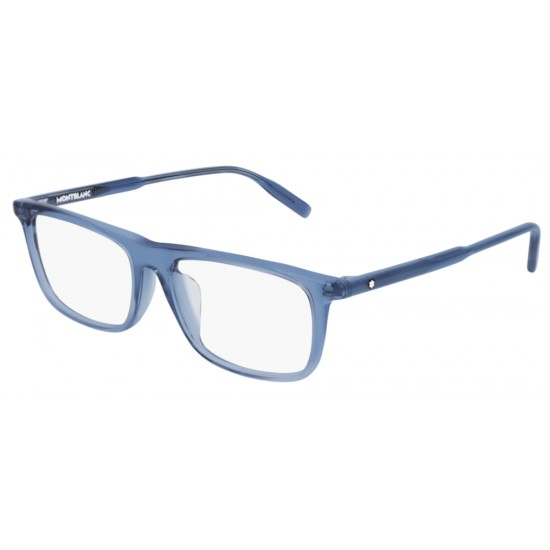 Montblanc MB0012OA - 003 Blu | Occhiale Da Vista Uomo