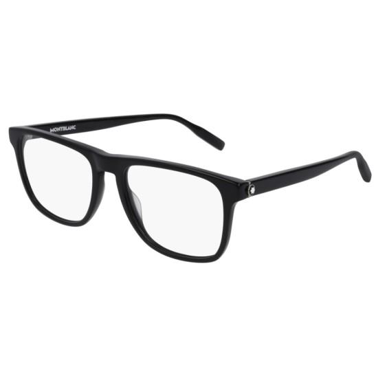 Montblanc MB0014O - 001 Nero | Occhiale Da Vista Uomo