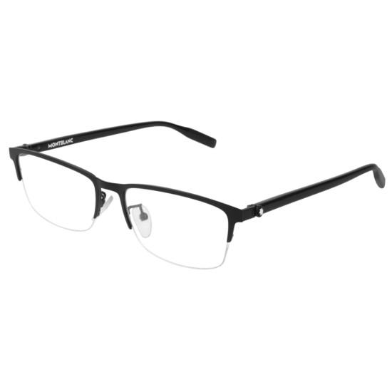 Montblanc MB0015O - 001 Nero   Occhiale Da Vista Uomo
