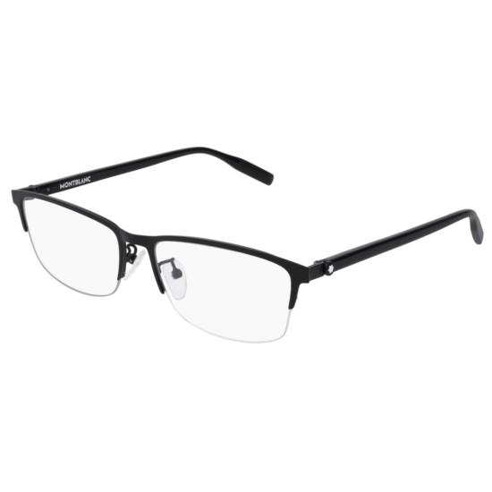 Montblanc MB0015O - 004 Nero | Occhiale Da Vista Uomo