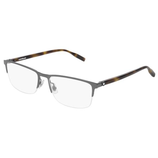 Montblanc MB0015O - 005 Rutenio | Occhiale Da Vista Uomo