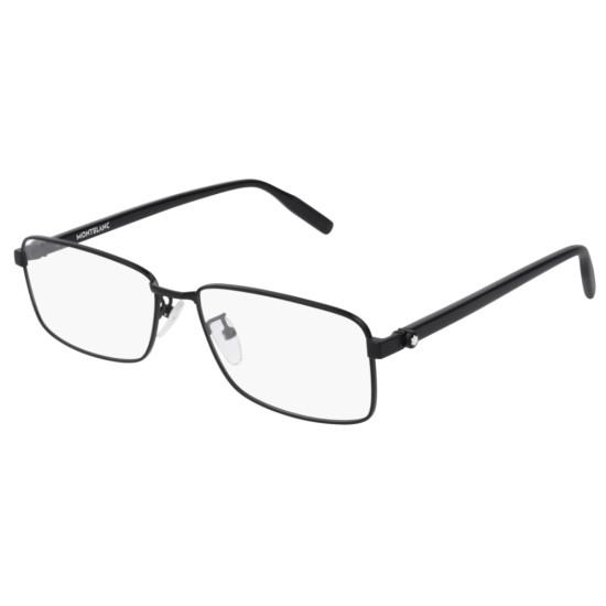 Montblanc MB0016O - 001 Nero | Occhiale Da Vista Uomo