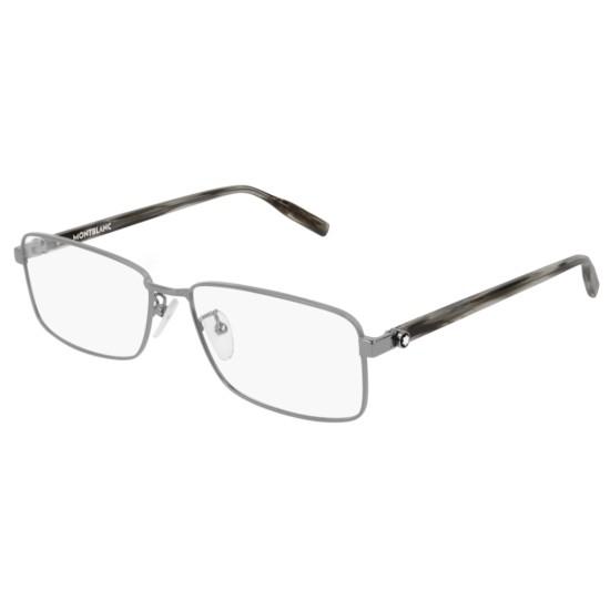 Montblanc MB0016O - 003 Rutenio | Occhiale Da Vista Uomo