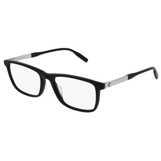 Montblanc MB0021O - 001 Nero | Occhiale Da Vista Uomo