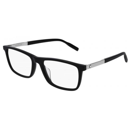 Montblanc MB0021O - 005 Nero | Occhiale Da Vista Uomo