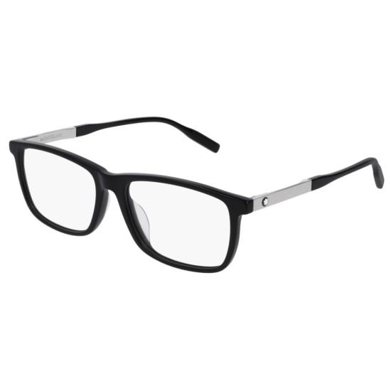 Montblanc MB0021OA - 001 Nero | Occhiale Da Vista Uomo