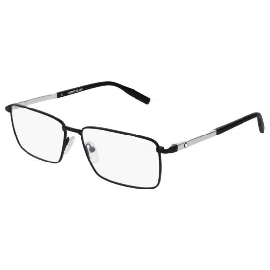 Montblanc MB0022O - 001 Nero | Occhiale Da Vista Uomo