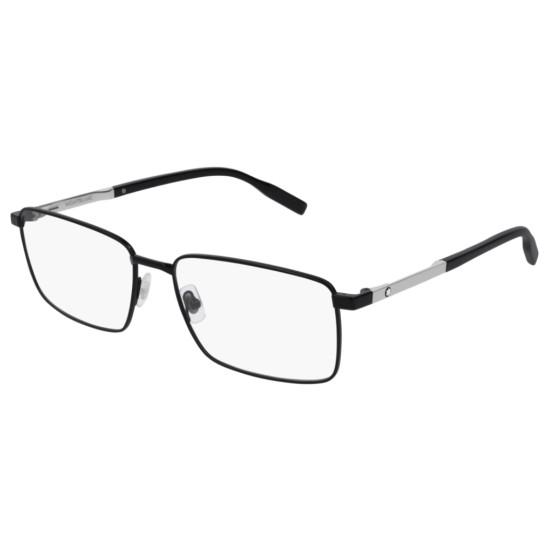 Montblanc MB0022O - 004 Nero | Occhiale Da Vista Uomo
